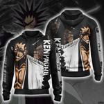Bleach - Kenpachi New Unisex Zip Up Hoodie