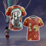 Spirited Away Unisex 3D T-shirt