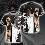 Bleach - Kenpachi New Unisex 3D T-shirt
