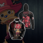 One Piece - The Strawhat's Doctor, Tony Tony Chopper Unisex 3D Hoodie
