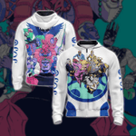 Jojo's Bizarre Adventure New Style Unisex Zip Up Hoodie