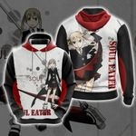 Soul Eater I Will Take Your Soul Unisex 3D Hoodie