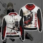 Soul Eater I Will Take Your Soul Unisex Zip Up Hoodie