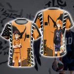 Haikyuu - Hinata Shouyou  Unisex 3D T-shirt