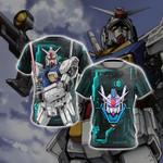 Mobile Suit Zephyranthes Gundam Unisex 3D T-shirt