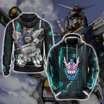 Mobile Suit Zephyranthes Gundam Unisex 3D Hoodie