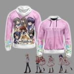 Clannad After Story Unisex Zip Up Hoodie