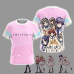 Clannad After Story Unisex 3D T-shirt