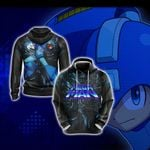 Mega man Legend New Version Unisex 3D Hoodie