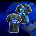 Mega Man Legend New Version Unisex 3D T-shirt
