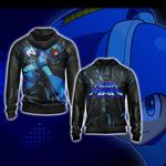 Mega Man Legend New Version Unisex Zip Up Hoodie