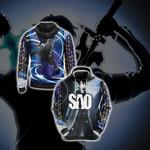 Sword Art Online Kirito Character New Style Unisex 3D Hoodie