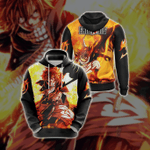 Fairy Tail Natsu Dragneelr New Style Unisex 3D Hoodie