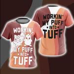 Pokemon Woking My Puff Into Tuff Unisex 3D T-shirt
