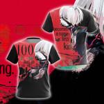 Tokyo Ghoul : Re-Kaneki Ken Unisex 3D T-shirt