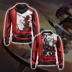 Attack On Titan - Mikasa Ackerman New Look Unisex Zip Up Hoodie