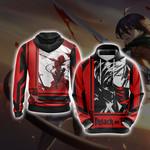 Attack On Titan - Mikasa Ackerman New Look Unisex 3D Hoodie