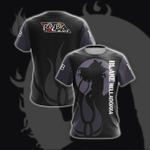 Blake New Collection RWBY Unisex 3D T-shirt