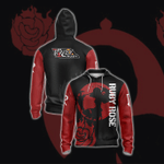 Ruby Rose New Collection RWBY Zip Up Hoodie