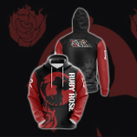 Ruby Rose New Collection RWBY 3D Hoodie