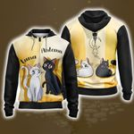 Sailor Moon Luna & Artemis New Style  Zip Up Hoodie