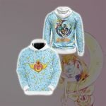 Sailor Moon - Characters New Style Unisex 3D Hoodie