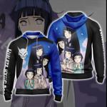 Naruto - Hinata Hyuga New Look Unisex Zip Up Hoodie