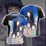 Naruto - Hinata Hyuga New Look Unisex 3D T-shirt
