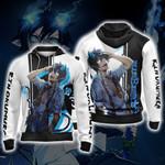 Blue Exorcist Rin Okumura New Version Unisex Zip Up Hoodie