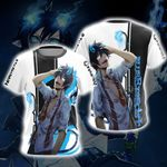 Blue Exorcist Rin Okumura New Version Unisex 3D T-shirt