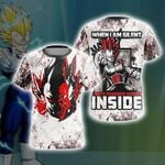 Dragon Ball Vegeta New Style Unisex 3D T-shirt