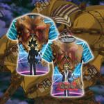 Yu-Gi-Oh! -Exodia and Yami Yugi Unisex 3D T-shirt