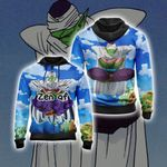 Dragon Ball Piccolo Yoga New Style Unisex Zip Up Hoodie