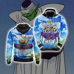 Dragon Ball Piccolo Yoga New Style Unisex 3D Hoodie