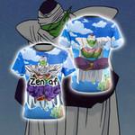 Dragon Ball Piccolo Yoga New Style Unisex 3D T-shirt