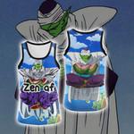 Dragon Ball Piccolo Yoga New Style Unisex 3D Tank Top