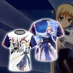 Fate/Stay Night Saber New Style 3D T-shirt