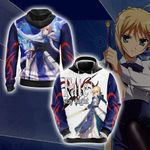 Fate/Stay Night Saber New Style 3D Hoodie