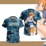 One Piece - Nami New Style Unisex 3D T-shirt