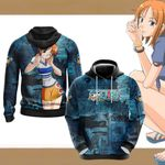 One Piece - Nami New Style Unisex 3D Hoodie