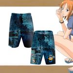 One Piece - Nami New Style 3D Beach Shorts