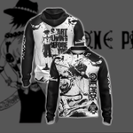 One Piece Ace - Start Living Before U Start Dying New Unisex Zip Up Hoodie