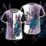 Dragon Ball Z Beerus Unisex 3D T-shirt