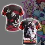Hunter x Hunter Hisoka New Version Unisex 3D T-shirt