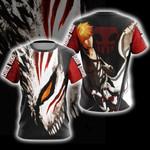 Bleach Ichigo Kurosaki New Unisex 3D T-shirt