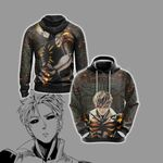 One Punch Man Genos New Style Unisex 3D Hoodie