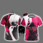 Tokyo Ghoul New Version Unisex 3D T-shirt