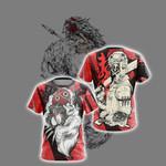 Princess Mononoke - Ashitaka New Style Unisex 3D T-shirt