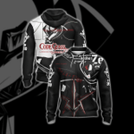 Code Geass - Zero New Style Unisex Zip Up Hoodie