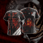 Hellsing Alucard New Version Unisex 3D T-shirt